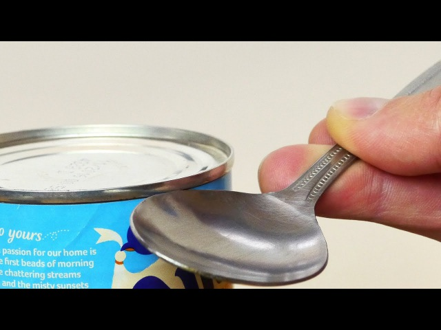 How to Open a Can in an Emergency Life Hack