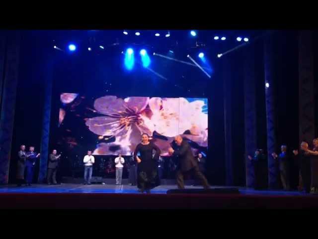 Танцуют ветераны ансамбля Молодость Дагестана!