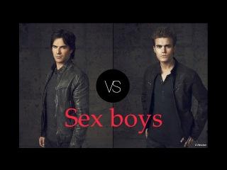 Damon and Stefan-Sex boys