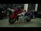 Выдача Honda CBR 600 f3 Лига1
