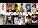 Famous Mangakas Drawing