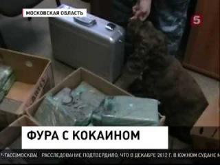 100 кг кокаина из Питера в Москву