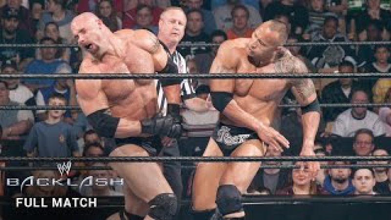 FULL MATCH — The Rock vs. Goldberg: Backlash 2003 (WWE Network Exclusive)