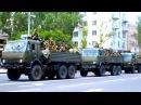 26 мая 2014. Донецк. Батальон «Восток» прибыл в Донецк на 6-ти Камазах, Урале и БТР