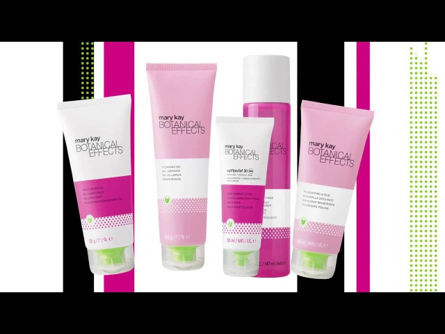 Набір з догляду за шкірою обличчя Botanical Effects® від Mary Kay®