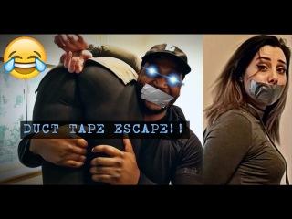 Magician's Duct Tape Escape Challenge - Part 1??