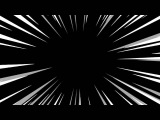 Royalty Free Anime / Manga speed / action lines, zoom in, half-speed black, loopable
