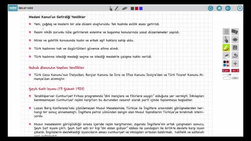 İnkilap Tarihi 21 - 1921ve 1924 Anayasaları Türk Medeni Kanunu Rejim Karşıtı Bir İsyan..