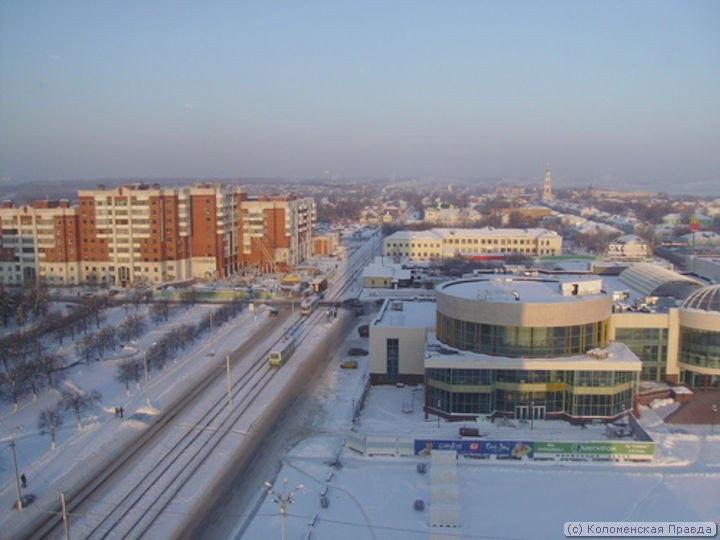 Площадь Советская Фото Коломна,