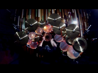 Rush r40 - a tribute to neil peart by  paiste  artist joel stevenett