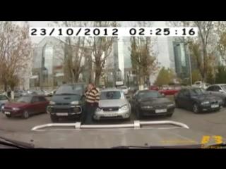 самое смешное видео с видеорегистратора или приключения Винни Пуха