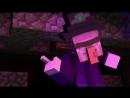 Мультфильм про майнкрафт 5 Встреча с ведьмой в майнкрафте. мульт,прикол