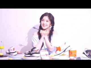 170512 Irene (Red Velvet) @ Nuovo CF Making