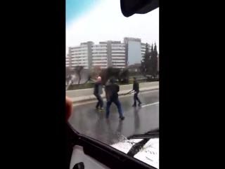 Нападение на полицейского в Сочи