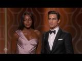 Golden Globe Awards (Recorded Jan 8, 2017) Matt Bomer Naomi Campbell