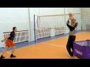 Нападающий атакующий удар. Обучение волейболу взрослых. Урок №3.