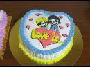 Торт сердце Торт ко Дню Влюблённых heart Cake