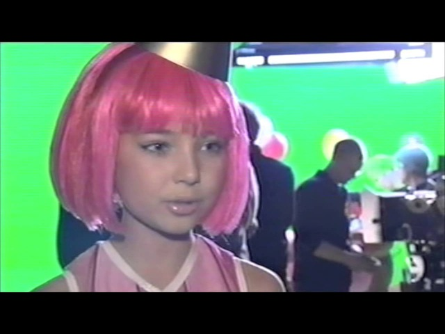 *BRAND NEW* Behind The Scenes Footage Of The Unaired Lazytown Pilot