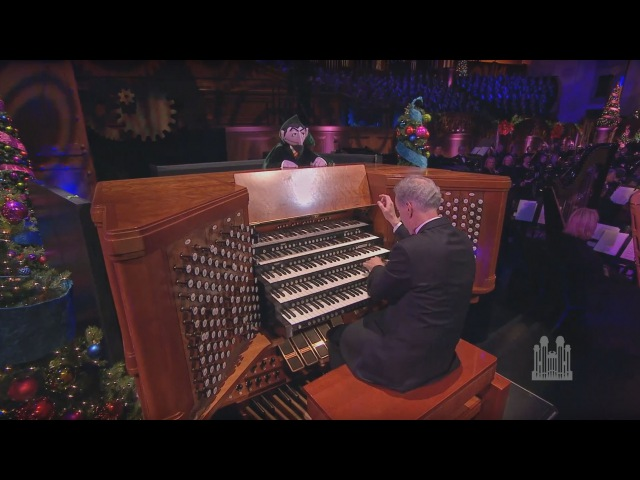 The Twelve Days of Christmas, with Count von Count (Organ Solo) - Mormon Tabernacle Choir