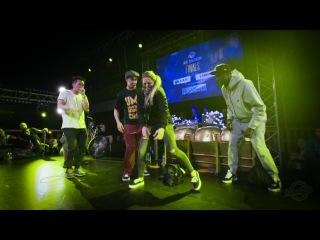 Judges Demo   Salah - Laure - Kapela   Fair Play Dance Camp 2016   Dance Battle to the Beatbox