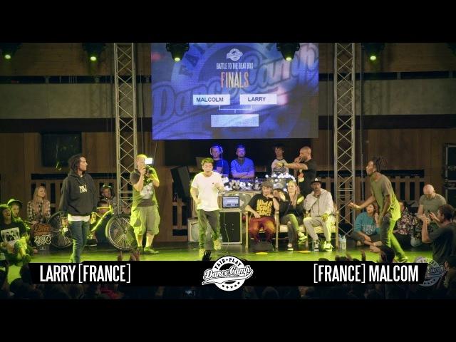 Laurent vs Malcom | ROUND 2 | Fair Play Dance Camp 2016 | Dance Battle to the Beatbox | Danceproject.info