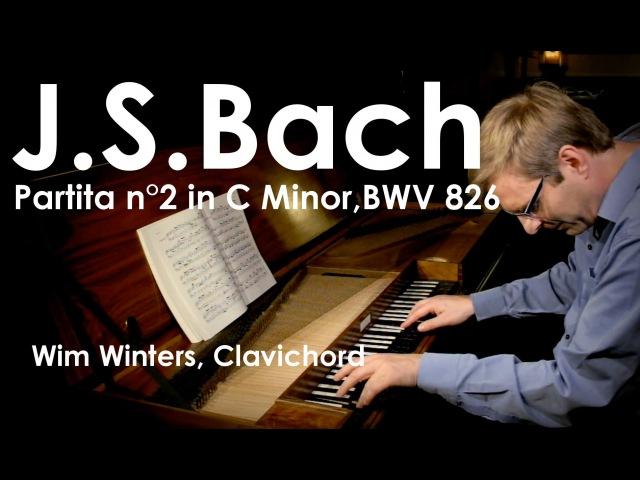 J.S.Bach :: Partita n°2, BWV 826 :: Wim Winters, Clavichord
