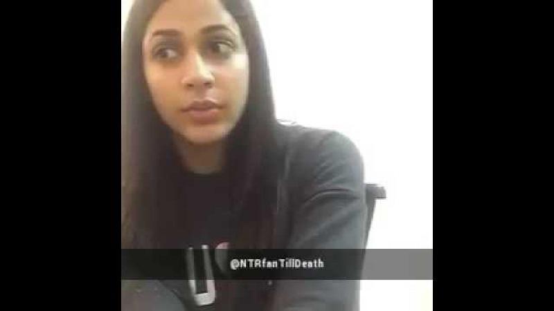 Must Watch  Lavanya Tripathi about JrNtr  