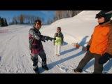Школа сноуборда Сезон 9 урок 2 Фристайл прыжки и вращения