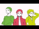 【Hand Drawn】Haikyuu!! Mekakucity actors OP Parody【Haikyuu!!】