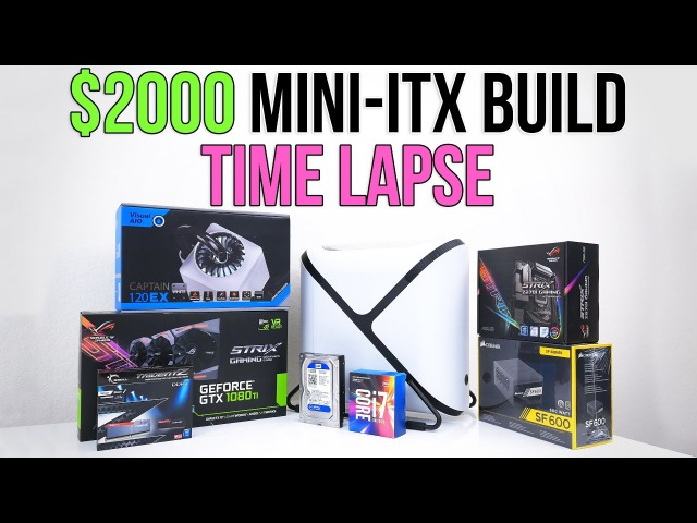 $2000 Beast Mini-Itx Gaming PC   Time Lapse Build