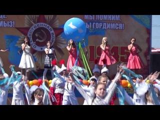 Концерт в честь праздника 9 мая День Победы в парке Победы