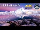 Greenland Icebergs - 4K