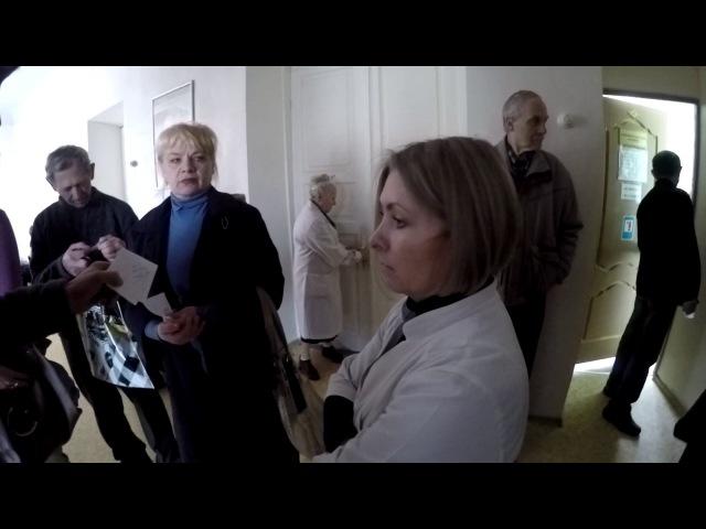 Борьба Стремоусова с поборами в больницах Украины Видео