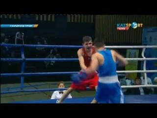 Айдын Ельжанов на прошедшем турнире имени Галыма Жарылгапова