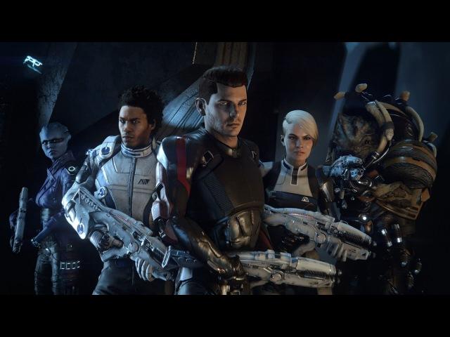 Изучаем подноготную команды.Разучился читать - Прохождение Mass Effect: Andromeda 7