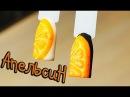 💜Дизайн ногтей Сочный апельсин Летний дизайн🍊