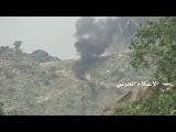 شاهد إحراق طقم عسكري في الفريضة بمنطقة الخ&#1