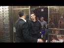 Person of Interest - BTS 5x13 'return 0' - Jim Caviezel Tony Vincent rehearsing fight scene