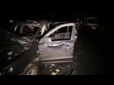 ШОК! Взрыв на Мотеле 2.02.17 Подробная съемка. Страшные кадры 21+