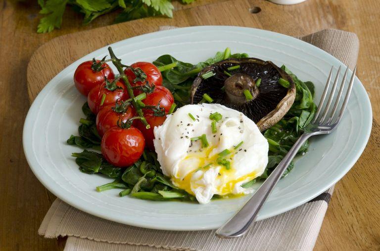 легкие флорентийские яйца