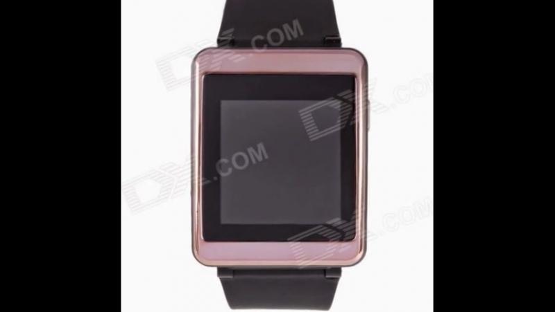 Aoluguya JHSP2 Smart GSM Watch Phone w1.54 Screen, Bluetooth, GPS, Sleep Monitor, Pedometer - Gold