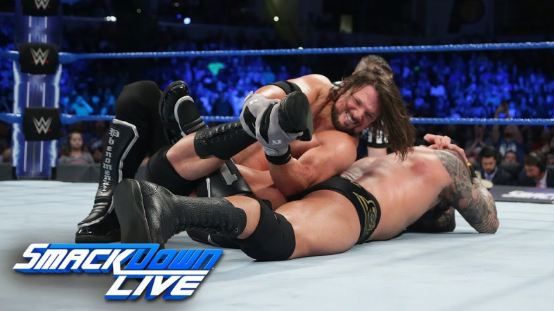 [WWE QTV]☆[Smackdown Live]☆[Смек Лайв]7 March 2017][Randy Orton vs Aj Styles]For No 1 Contendership For Wrestlemania[Full]HD]