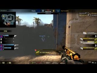 Na'Vi vs FaZe. 1 игра, пистолетка @ DH Masters
