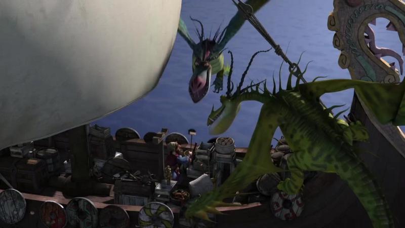 драконы и всадники олуха 3 сезон 20 серия