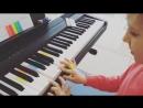 Урок фортепиано в студии MusicTON
