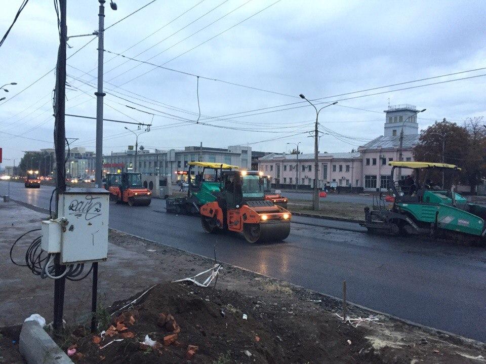 В Харькове реконструируют Московский проспект (ФОТО)