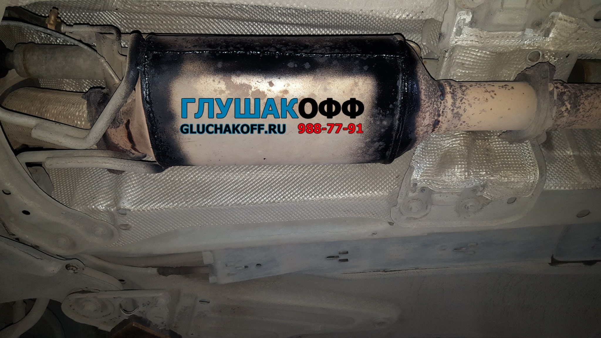 Удаление сажевого фильтра на VOLVO XC-90 в СПБ + чип-тюнинг