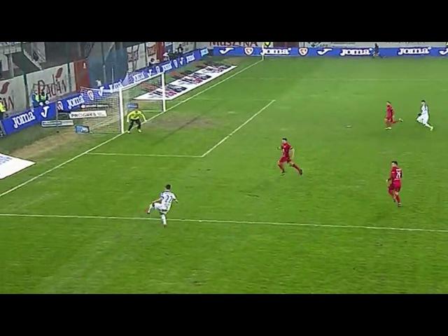 Skrót meczu Piast vs Lech. Bramka na 0-2