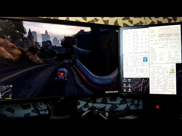 GTA V i7 5820к 3 3Ghz vs 4 3Ghz [2]