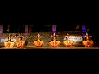 Sridevi Nrithyalaya - Bharatanatyam Dance - Lathangi Varnam - clipping from the LIVE SHOW